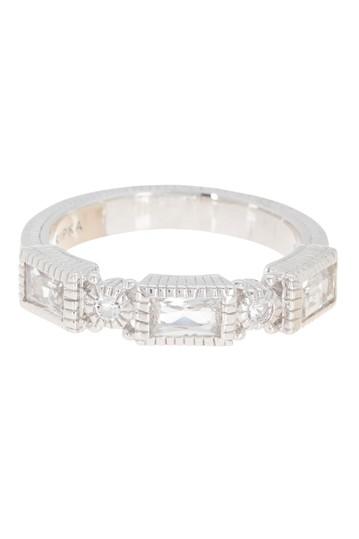 Кольцо Estate из стерлингового серебра с багетом и белым топазом Judith Ripka