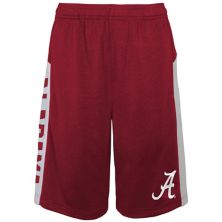 Youth Crimson Alabama Crimson Tide Down The Field Mesh Shorts Outerstuff