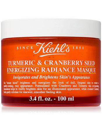 Энергетическая маска для сияния кожи с куркумой и семенами клюквы, 3,4 унции. Kiehl's Since 1851