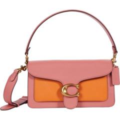 Цветная полосатая сумка через плечо 26 COACH