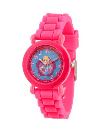 Disney Toy Story 4 Bo Peep Розовый Пластик Время Учитель Ремешок Часы 32мм Ewatchfactory