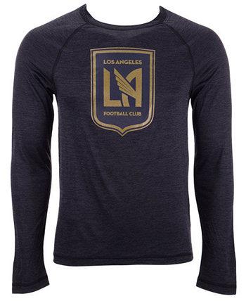 Мужская футболка с длинным рукавом Los Angeles Football Club Vital To Success Majestic