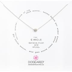 Круг ожерелье Dogeared