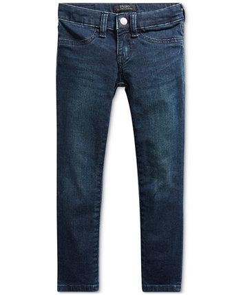 Маленькие девочки Обри джинсовые леггинсы Ralph Lauren