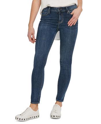 Джинсы-скинни Delancey с высокой посадкой DKNY Jeans