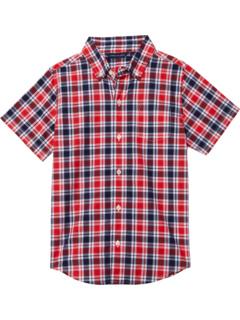 Madras Plaid Button-Up Shirt (Toddler/Little Kids/Big Kids) Janie and Jack