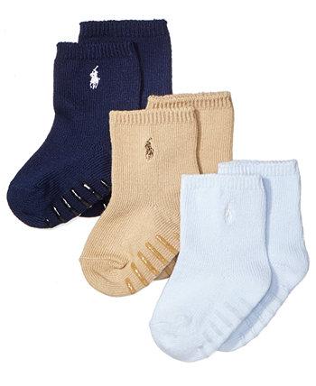 3 пары носков с круглым вырезом для мальчиков Ralph Lauren Ralph Lauren