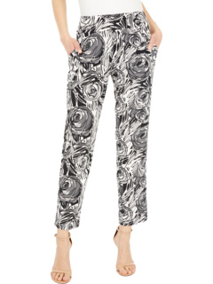 Эластичные брюки без застежки KL Leisure с боковыми карманами и спереди из искусственной мухи Krazy Larry