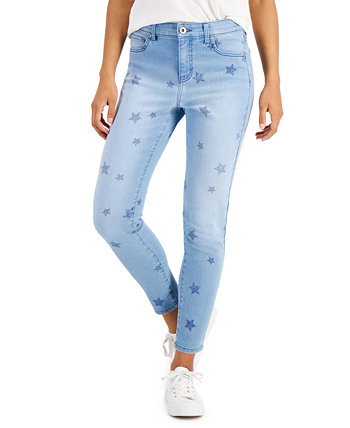 Star Toss Skinny Ankle Jeans, Created for Macy's Style & Co