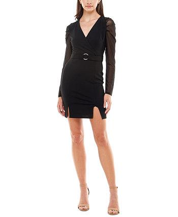 Облегающее платье-блейзер из джерси для юниоров Almost Famous
