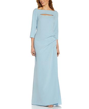 Платье с вырезом Adrianna Papell