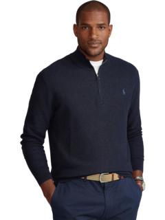Текстурированный пуловер 1/4 Big & Tall Ralph Lauren