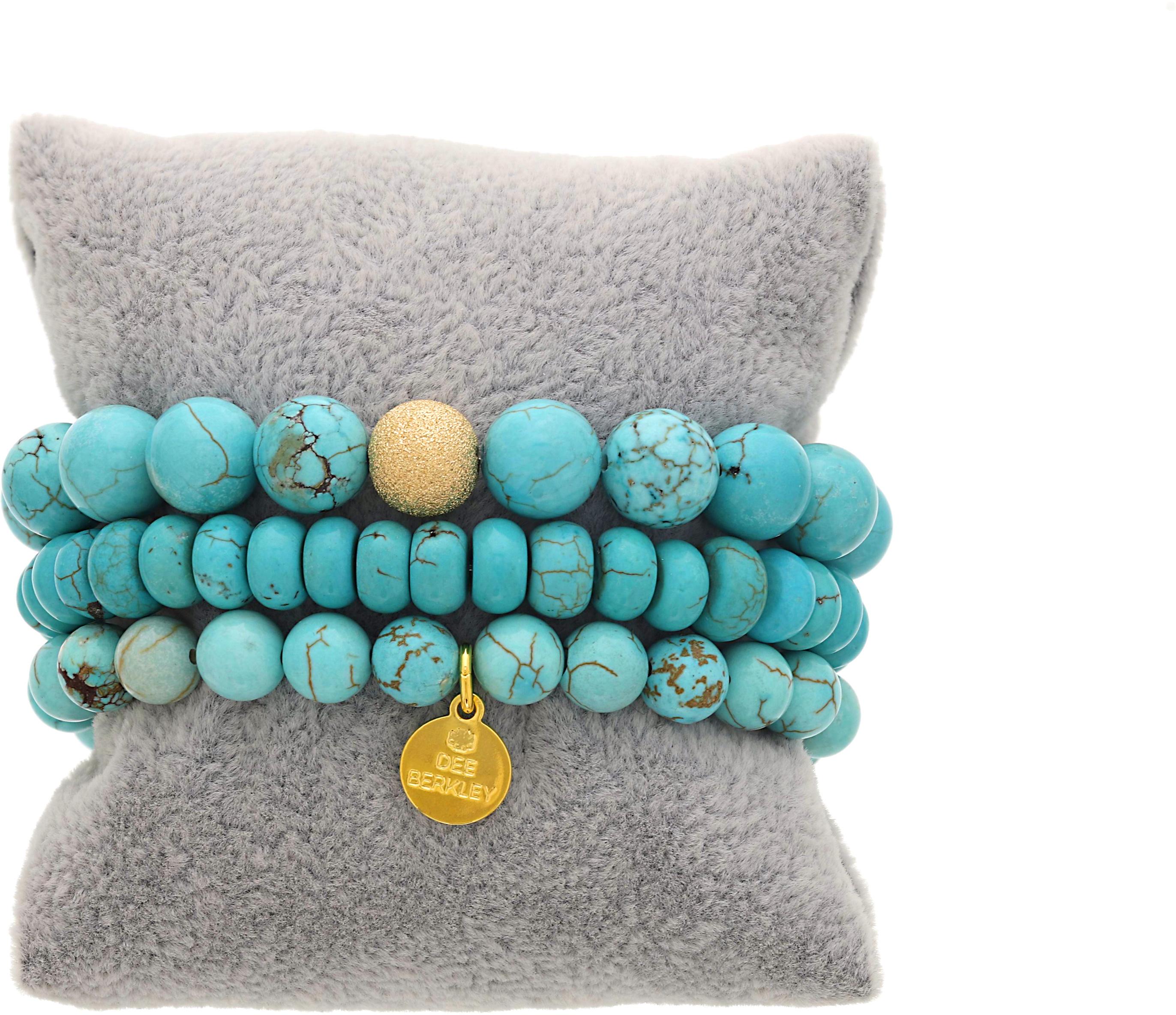 Набор браслетов из синего говлита Daydreamer Dee Berkley