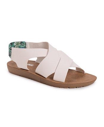 Женские сандалии на плоской подошве About Mary MUK LUKS