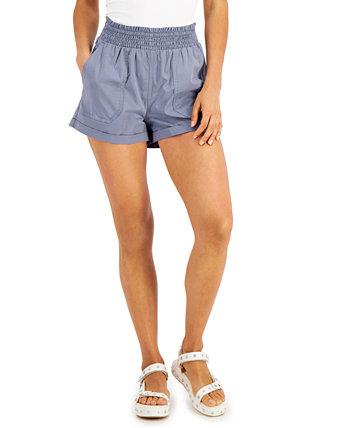 Юниорские шорты со сборками и манжетами Vanilla Star