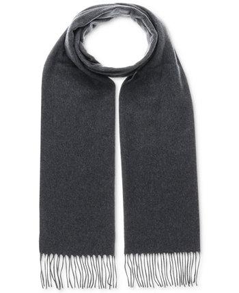 Мужской однотонный шарф из кашминка V. Fraas