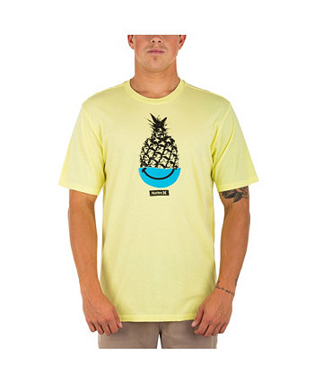 Men's Every Day Washed Pine Happy T-shirt Hurley