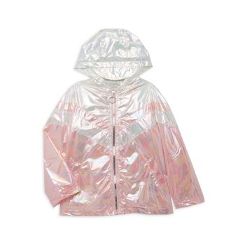 Радужная куртка в стиле техно для девочек Urban Republic