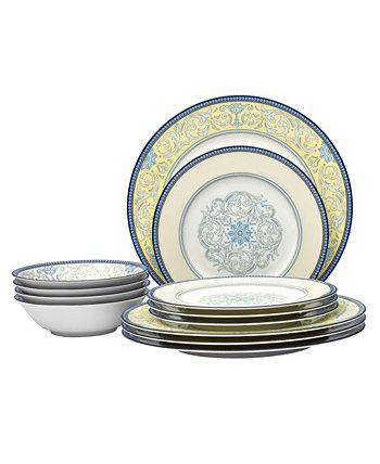 Menorca Palace Набор столовой посуды из 12 предметов Noritake