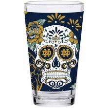 Notre Dame Fighting Irish 16oz. Dia de los Muertos Pint Glass Unbranded