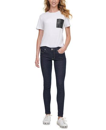 Джинсы-скинни Bleecker Shaping DKNY Jeans