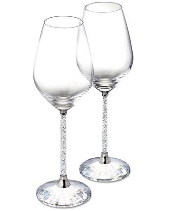 Кристаллические бокалы для красного вина, набор из 2 шт. Swarovski