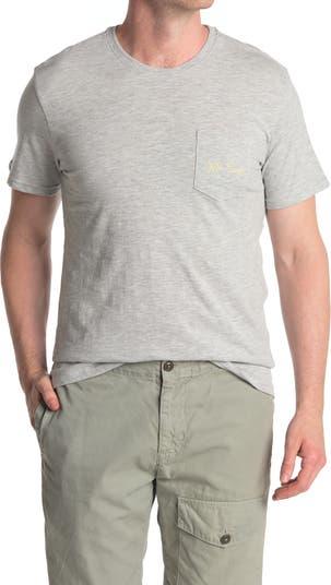 Sail Boats Heathered Pocket T-Shirt Mr. Swim