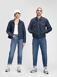 Джинсовая куртка Gap & Jean ReDesign Icon с умывальником Gap