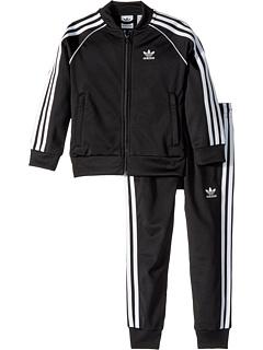 Спортивный костюм с 3 полосками Superstar (для малышей / детей старшего возраста) Adidas Originals
