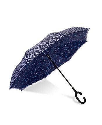 UnbelievaBrella двусторонний зонт с двойным принтом SHEDRAIN