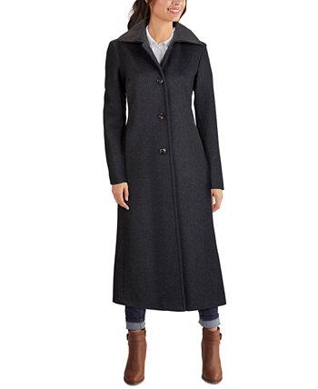 Однобортное макси-пальто Jones New York