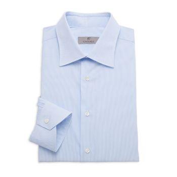 Modern-Fit Pinstriped Shirt Canali