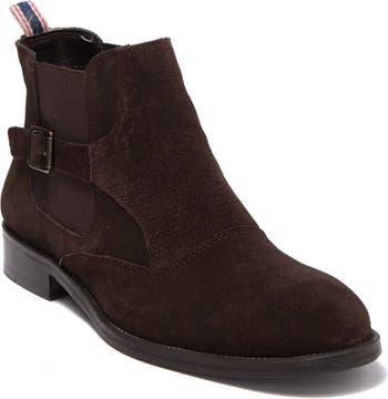 Кожаные ботинки челси с тиснением Easton Vintage Foundry