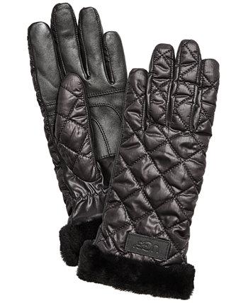 Стеганые рабочие перчатки UGG