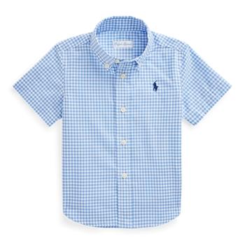 Gingham Cotton Poplin Shirt Ralph Lauren