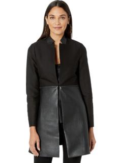 Конвертируемая куртка на молнии BCBGMAXAZRIA