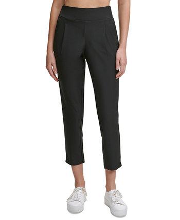 Зауженные брюки со складками спереди Calvin Klein