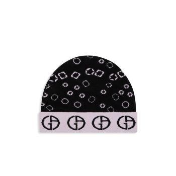 Шляпа Runway Intarsia с логотипом Giorgio Armani