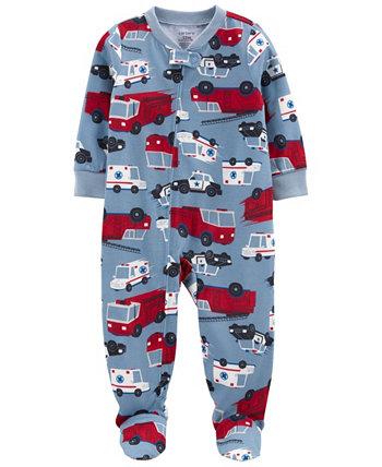 Свободная пижама Footie для маленьких мальчиков Carter's