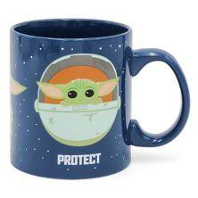 "Star Wars The Mandalorian The Child AKA Baby Yoda ""Protect"" Mug Licensed Character"