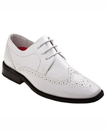 Кружевные модельные туфли для маленьких мальчиков Joseph Allen