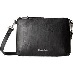 ПВХ без подкладки Pebble Crossbody Calvin Klein