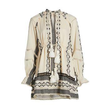 Мини-платье Mora Boho HEMANT & NANDITA