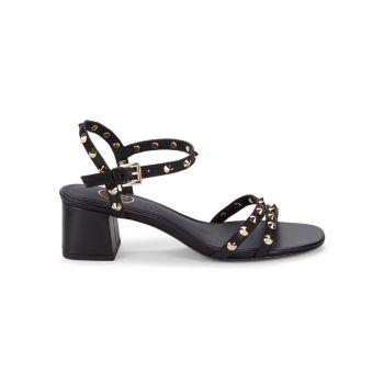 Кожаные сандалии Rikki с заклепками ASH