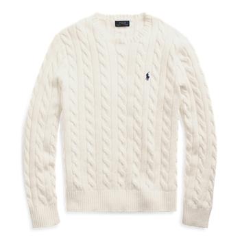 Cable-Knit Cotton Sweater Ralph Lauren