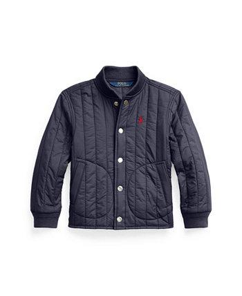 Водоотталкивающая бейсбольная куртка Little Boys Ralph Lauren
