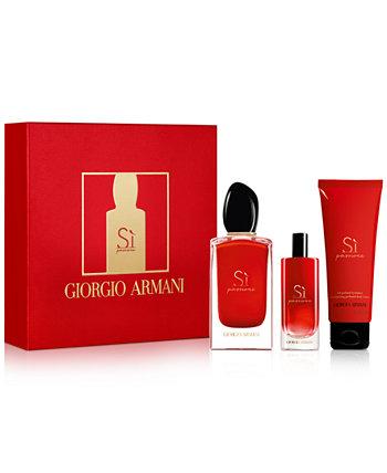 3-шт. Подарочный набор Sì Passione Eau de Parfum Giorgio Armani