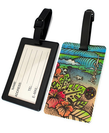 Surfer Collection Luggage Tags Maui and Sons