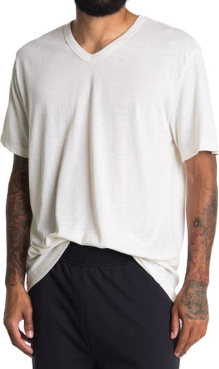 Эко-футболка с V-образным вырезом Alternative
