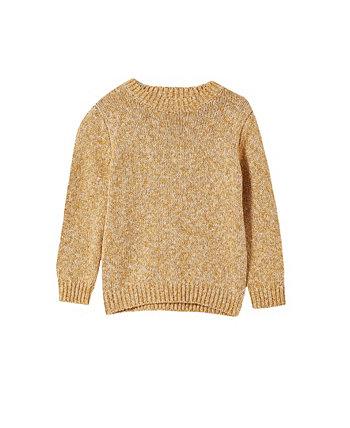 Вязаный джемпер для малышей Blake, пуловер COTTON ON